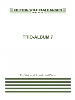 Nicolaj Hansen (Ed): Trio Album 7 (Score And Parts) Books | Violin, Cello, Piano Chamber, Trio