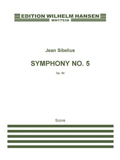 Jean Sibelius: Symphony No.5 Op.82 (Score) Books | Orchestra