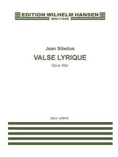 Jean Sibelius: Valse Lyrique Op.96a Books | Piano