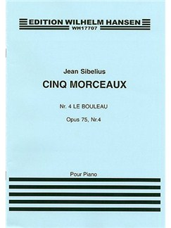 Jean Sibelius: The Birch (Five Pieces) Op.75 No.4 Books | Piano