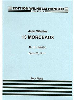 Jean Sibelius: 13 Pieces Op.76 No.11 'Linnaea' Books | Piano