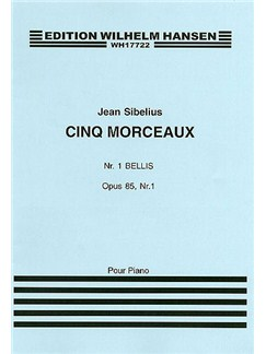 Jean Sibelius: Five Pieces Op.85 No.1 'Bellis' Books | Piano