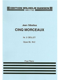 Jean Sibelius: Five Pieces Op.85 No.2 'Oeillet' Books | Piano