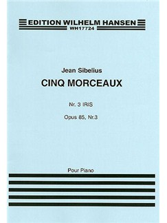 Jean Sibelius: Five Pieces Op.85 No.3 'Iris' Books | Piano