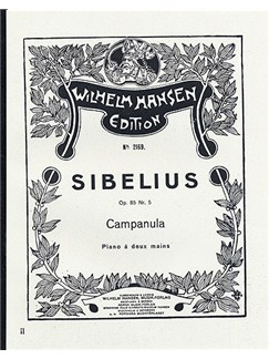 Jean Sibelius: Five Pieces Op.85 No.5- Campanula Books | Piano