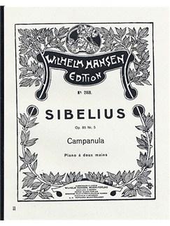 Jean Sibelius: Five Pieces Op.85 No.5- Campanula Livre | Piano