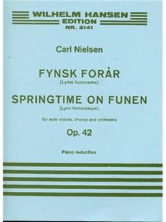 Carl Nielsen: Fynsk Foraar Op.42 (Vocal Score) Books | Soprano, Alto, Tenor, Bass, Piano Accompaniment
