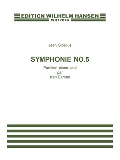 Jean Sibelius: Symphonie Nr. 5, Op. 82 (Piano Reduction) Books | Piano