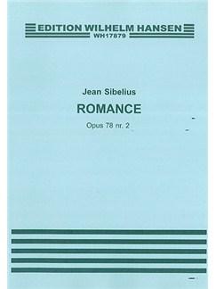 Jean Sibelius: Romance Op.78 No.2 Bog | Cello, Violin, Klaverakkompagnement