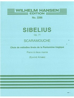Jean Sibelius: Selections From Scaramouche Op.71 (Piano) Books | Piano