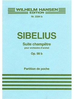 Jean Sibelius: Suite Champetre Op.98b (Score) Books | String Orchestra