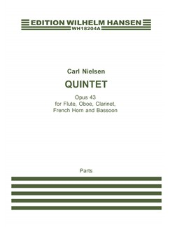 Carl Nielsen: Quintet Op. 43 (Parts) Books | Flute, Clarinet, Oboe, French Horn, Bassoon