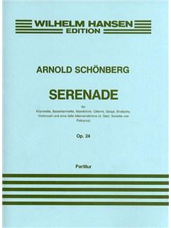 Arnold Schoenberg: Serenade Op.24 (Score) Buch | Bass, Ensemble