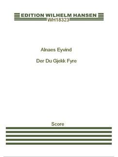Eyvind Alnæs: 3 Sange Op. 17 (Score) Books |