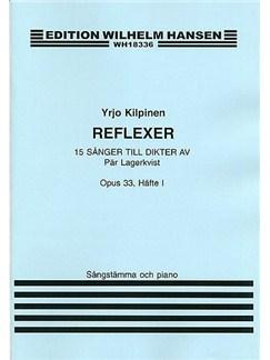 Yrjo Kilpinen: 15 Songs Op.33 Books | Voice, Piano