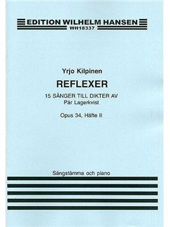 Yrjo Kilpinen: 15 Songs Op.34 Book 2 Books | Voice, Piano