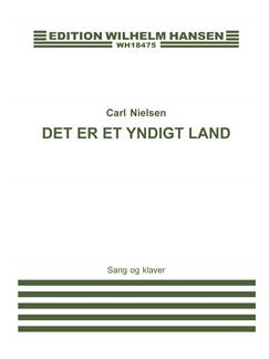 Carl Nielsen: Der Er Et Yndigt Land (Voice and piano) Books | Voice, Piano Accompaniment