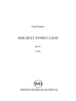 Carl Nielsen: Der Er Et Yndigt Land (SATB) Books | SATB