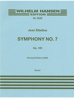 Jean Sibelius: Symphony No.7 Op.105 (Full Score) Books | Orchestra