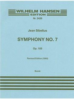 Jean Sibelius: Symphony No.7 Op.105 (Full Score) Libro | Orquesta