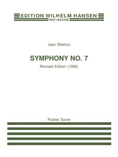 Jean Sibelius: Symphony No.7 Op.105 (Study Score) Books | Orchestra