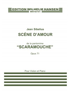 Jean Sibelius: Scene D'amour (Scaramouche) Op.71 (Violin and Piano) Books | Violin, Piano