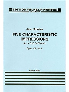 Jean Sibelius: Five Characteristic Impressions Op.103 No.5 - In Mournful Mood Books | Piano