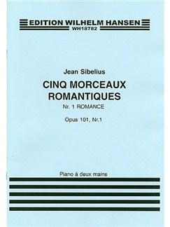 Jean Sibelius: Five Romantic Pieces Op.101 No.1- Romance Books | Piano
