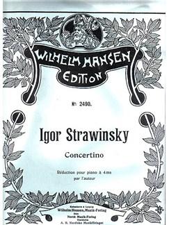 Igor Stravinsky: Concertino (Piano Duet Reduction) Books | Piano Duet