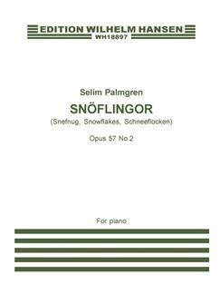 Selim Palmgren: Snowflakes Op.57, No.2 (piano) Books | Piano