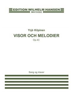 Yrjo Kilpinen: Visor Och Melodier Books | Voice, Piano Accompaniment