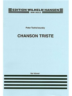 Pyotr Ilyich Tchaikovsky: Chanson Triste Op.42 No.2 (Piano) Libro | Piano