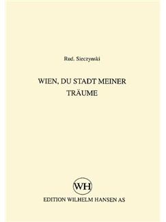 Rudolph Sieczynski: Wien, Du Stadt Meiner Traeume Books | Low Voice