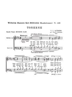 Sjoeberg Cl Tonerne Mk433 Ttbb Choral Bog | TTBB