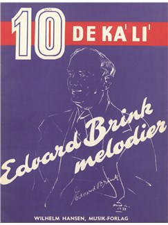 Edvard Brink: Edvard Brink Melodier (Voice And Piano) Books | Voice, Piano Accompaniment