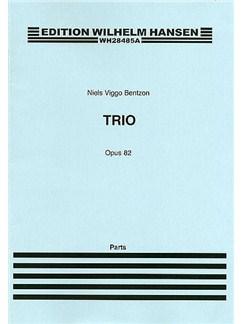 Niels Viggo Bentzon: Brass Trio Op.82 (Parts) Books | Trumpet, Horn, Trombone