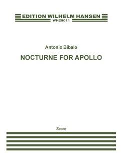 Antonio Bibalo: Nocturne For Appollo (Full Score) Books | Soprano Solo, SATB Chorus, Orchestra