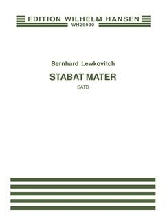 Bernhard Lewkovitch: Stabat Mater Books | SATB