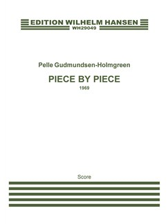 Pelle Gudmundsen-Holmgreen: Piece By Piece (Score) Bog | Orkester