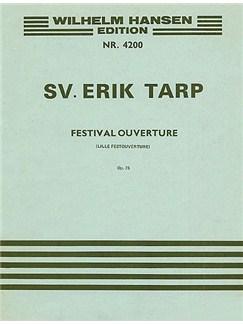 Svend Erik Tarp: Little Festival Overture Op.75(Score) Books   Orchestra