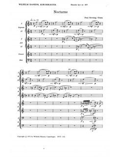 Poul Rovsing Olsen: Nocturne Op.71/2 (SATB) Books | SATB