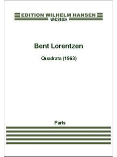 Bent Lorentzen: Quadrtata (1963) Bog | Strygekvartet