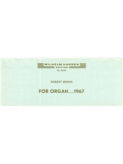 Robert Moran: For Organ Books | Organ