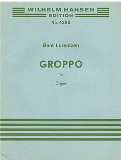 Bent Lorentzen: Groppo Books | Organ