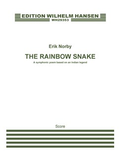 Erik Norby: The Rainbow Snake (Score) Books | Orchestra