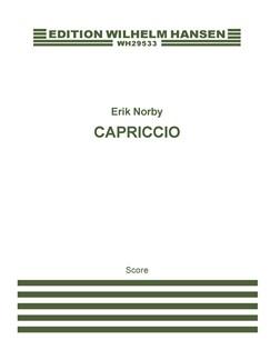 Erik Norby: Capriccio (Score) Books | Trumpet, String Orchestra, Piano Chamber