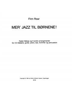 Finn Roar: Mer' Jazz Til Børnene (Book) Bog |