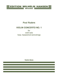 Poul Ruders: Violin Concerto No.1 (Solo Violin) Books | Violin