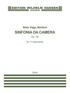 Niels Viggo Bentzon: Sinfonia Da Camera Op.139 (Score) Books | Ensemble
