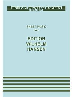 Poul Ruders: Herr Neyge Deine Ohren Buch | SATB (Gemischter Chor)